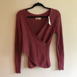 *NWT* Hollister Wrap Sweater